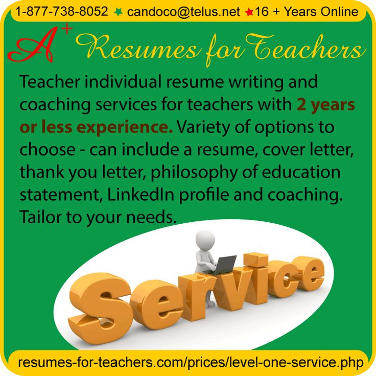 Best resume writing services for educators handbook