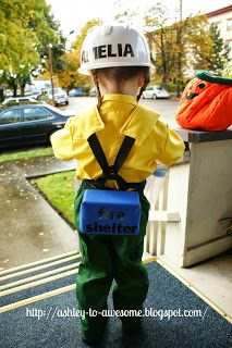 Wildland Firefighter Halloween costume OMG @ymichelle23 when we have kids someday they will have this costume!!! <3
