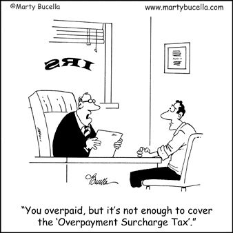 Overpayment Surcharge Tax.