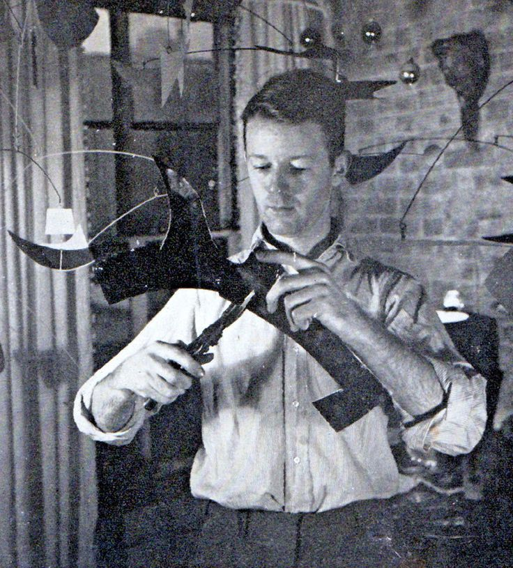 1953 JOHN LYNCH MOBILES sculpture methods materials glass mid century modern +