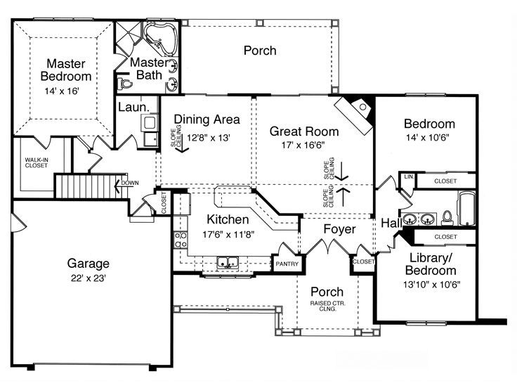 510 best house plans images on Pinterest | Country homes, Floor ...