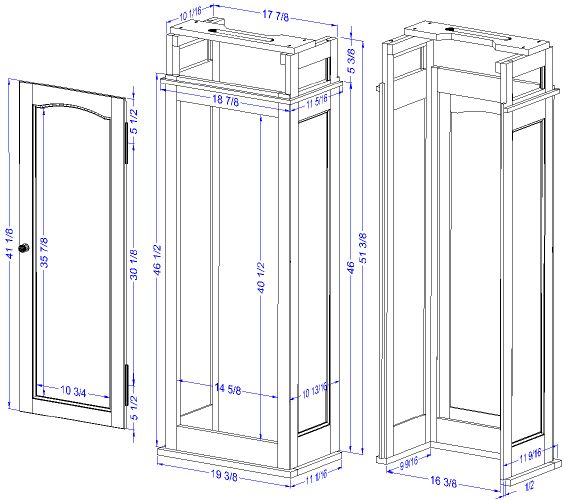 Grandfather Clock Blueprints