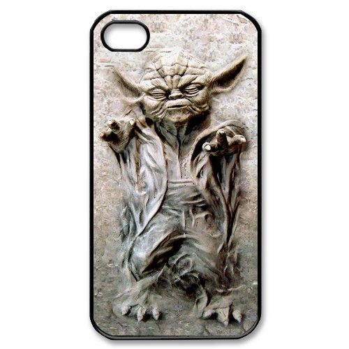 Star wars Master Yoda in carbonite Geek style  iPhone 4 4s or iPhone 5 case.  #accessories #case #cover  #hardcase #hardcover #skin  #phonecase #iphonecase  #iphone4 #iphone4s #iphone4case #iphone4scase  #iphone5 #iphone5case  #iphone5c #iphone5ccase  #iphone5s #iphone5scase  #movie #starwars #dezignercase