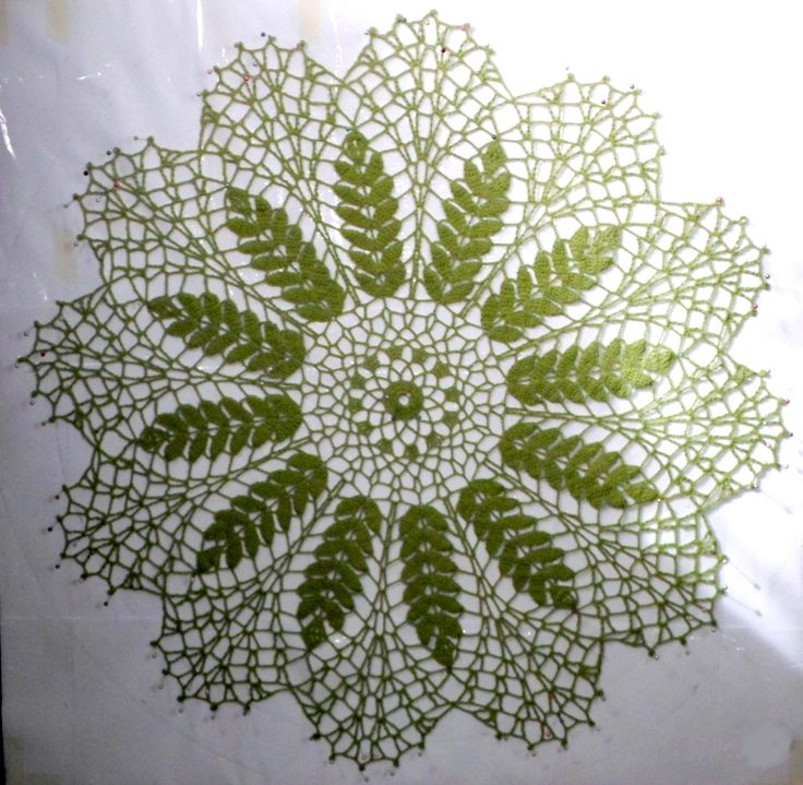 Crochet centerpiece pistacho. Centro de mesa que  tejí en hilo 28/2 color pistacho puesto doble y crochet N°2. Preciosas espigas para nuestra mesa.