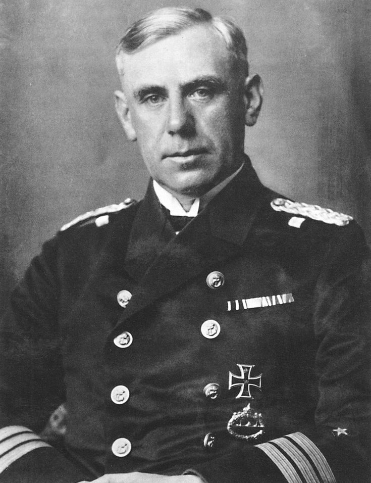 Admiral Wilhelm Franz Canaris (1887 –1945) was chief of the Abwehr, the German military intelligence service, from 1935 to 1944. He was among the military officers involved in the clandestine opposition to Adolf Hitler and the Nazi regime. He was executed in the Flossenbürg concentration camp for the act of high treason after the failed attempt of the opposition to assassinate Hitler on July 20, 1944.