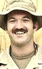Army SGT Jamie O. Maugans, 27, of Derby, Kansas. Died April 15, 2002, serving during Operation Enduring Freedom. Assigned to 710th Explosive Ordnance Detachment, San Diego, California. Died of injuries sustained in an accidental explosion of large caliber rockets confiscated from former Taliban ammunition dumps in Kandahar Province, Afghanistan.