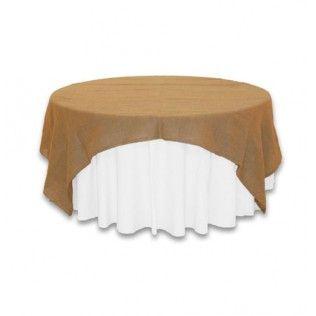 les 25 meilleures id es de la cat gorie nappe en toile de jute sur pinterest tables de mariage. Black Bedroom Furniture Sets. Home Design Ideas