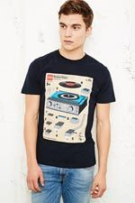 Chunk - T-shirt Build Your Own Decks chez Urban Outfitters