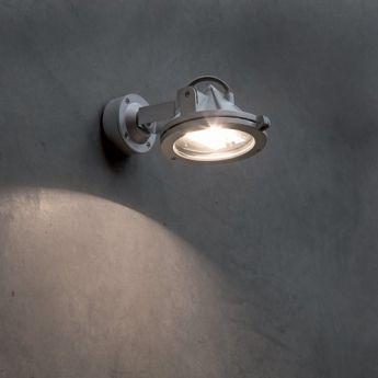 Projecteur extérieur KONIC - Faro Un projecteur pour l'extérieur simple, discret et design tout en Aluminium de la MARQUE FARO.