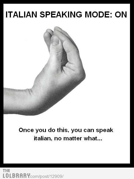 Italian lesson Nº 1
