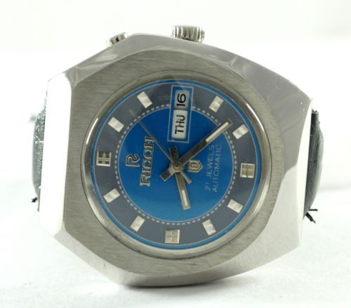 100-AUTHENTIC-VINTAGE-RARE-COLOUR-RICOH-21-J-D-D-AUTOMATIC-MENS-WRIST-WATCH