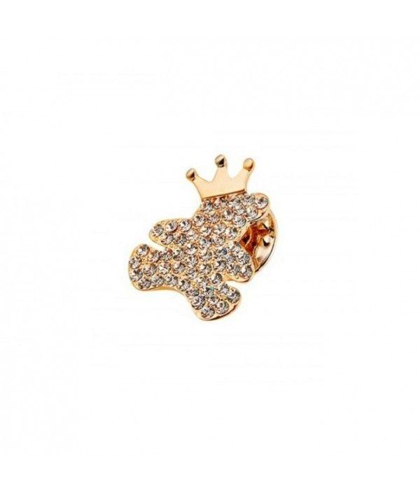 Brosa Crown Teddy  #idei de #martisoare