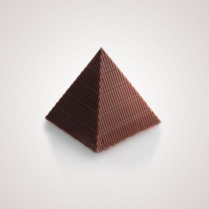 Σοκολάτα γάλακτος με γέμιση γκανάζ και αλάτι