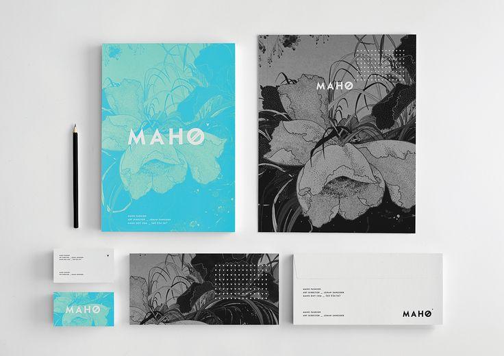 Polish Spotted: Krzysztof Zdunkiewicz Maho Fashion Brand Identity Design