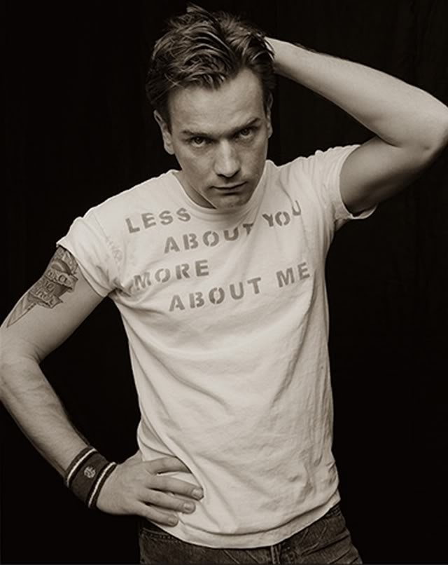 ewan mcgregor- yes, more about you please. i'm not complaining.