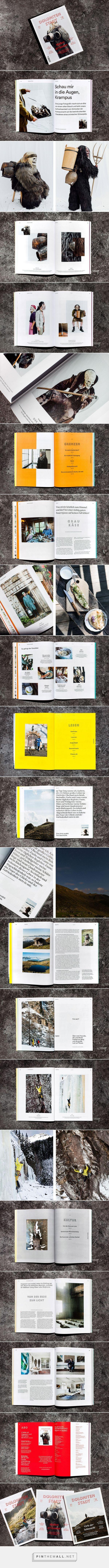 Dolomitenstadt Magazine on Behance - created via https://pinthemall.net