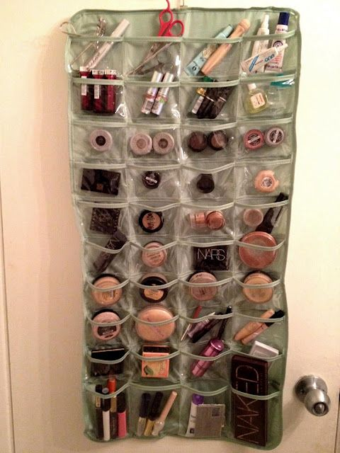 Makeup organizer #DIY #IDEA <3