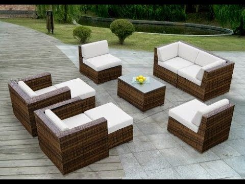 Sale Discount off 54% for Ohana Collection Outdoor Patio Sofa Wicker Sec...