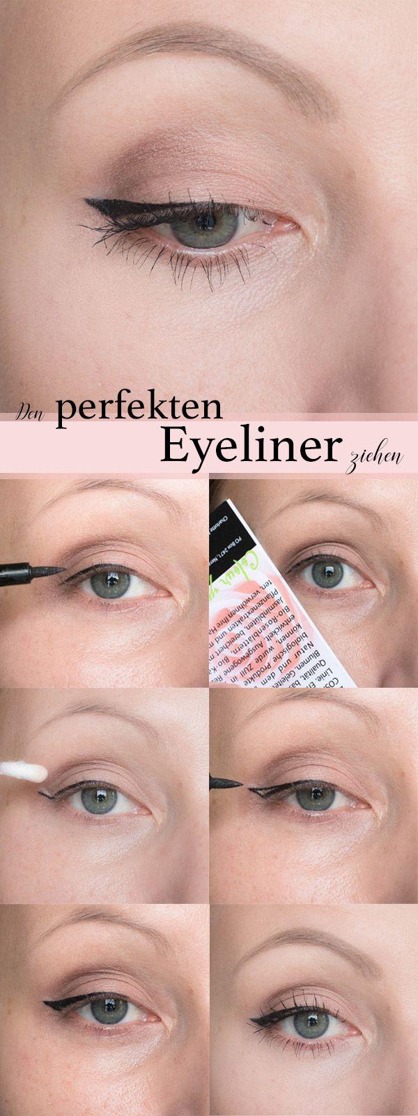 Den perfekten Lidstrich ziehen! Make up Tutorial auf Lovelycatificatio… #eyeli…