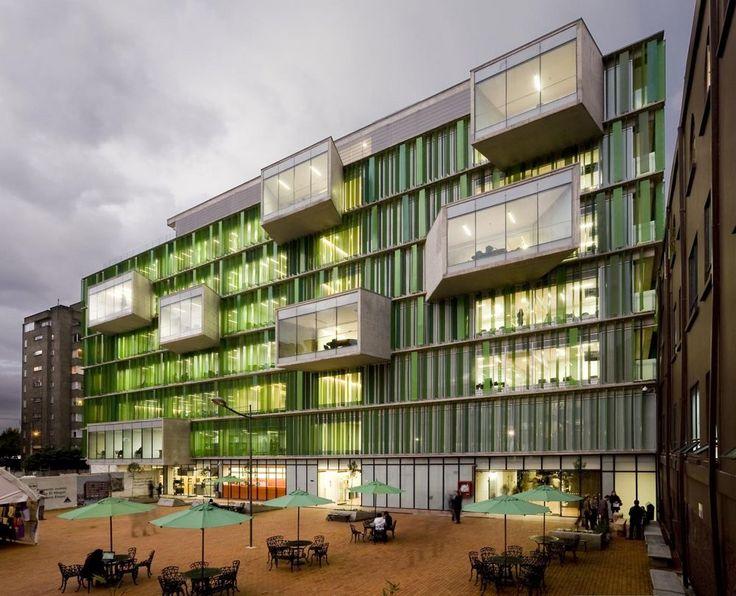 Universidad EAN – El Nogal Campus in Bogotá, Colombia by Daniel Bonilla Arquitectos