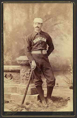 "Michael J. ""King"" Kelly  Boston, Mass. : Hastings, 147 Tremont Street ; c1887 Apr. 26."