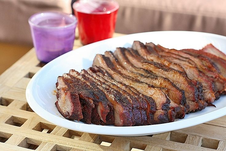 BBQ Beef Brisket in my Dutch Oven.  Even though this is not my picture, it looks pretty much like this and tastes fantastic.  Dinner tonight!