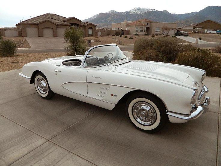 Chevrolet Corvette For Sale >> 1958 Chevrolet Corvette | CHEVROLET | Pinterest | Bilar