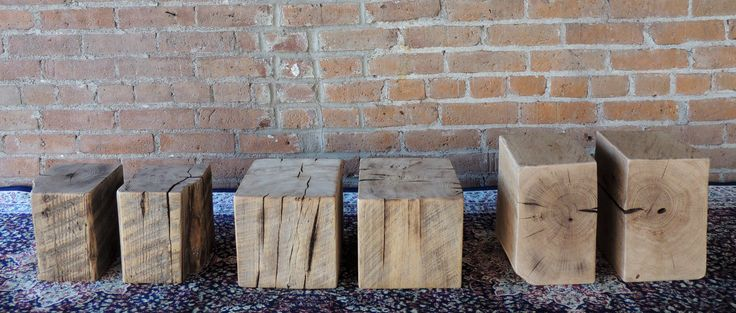 Rustic Bookends - Reclaimed Bookends - Accent Pieces - Office Decor - Group of 3 - Pairs of Bookends - Rustic Decor - Home Decor by Harvestbilt on Etsy