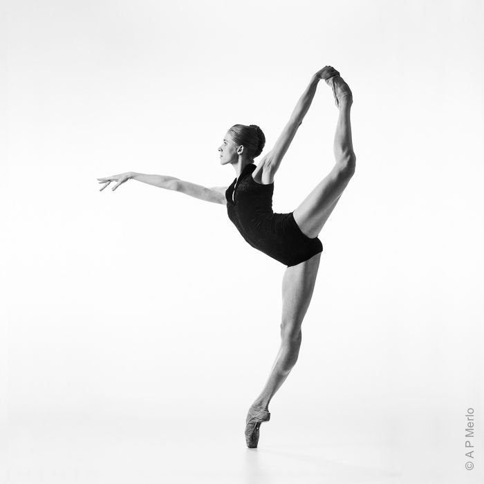 On Pointe Dancer: Marianna Barabás © Andrea Paolini Merlo Photography