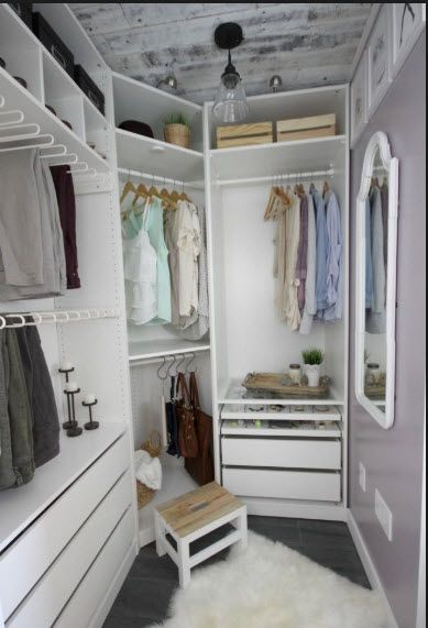 7 small dressing room ideas every stylish uk home owner - Dressing room designs in the home ...