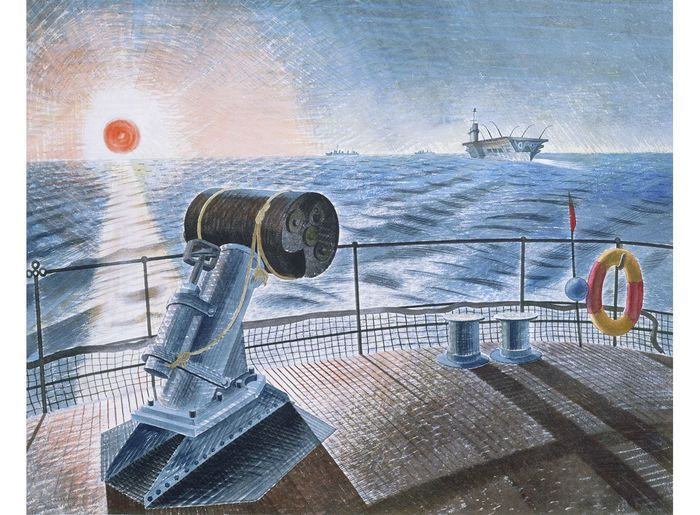 Ravilious - Midnight Sun.
