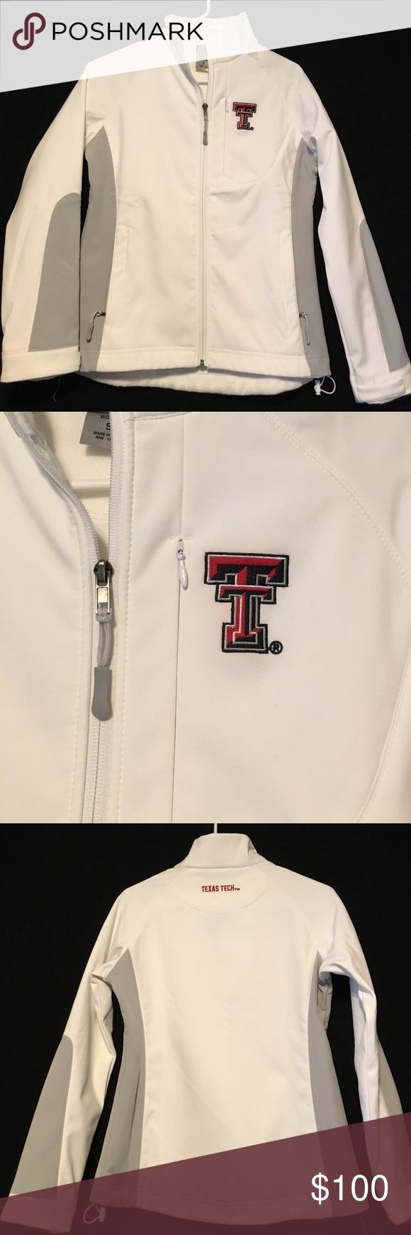 NEW Colosseum Athletics Texas Tech Jacket – Small This classy white Texas Tech jacket from Colosseum Athletics is BRAND NEW! It is size small, and fleece-lined with several zipper pockets. Colesseum Athletics Jackets & Coats Utility Jackets