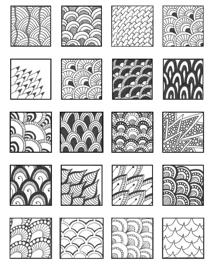Line Art Zentangle : Best Зендудл emily perkins patterns images on