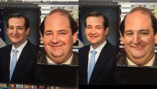 CONSPIRACY #40 Kevin from The Office is the zodiac killer. Face swap his and Ted Cruz's face and you can tell they're the same person.