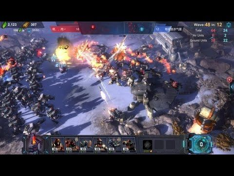 Art of War Red Tides GAMEPLAY - Art of War Red Tides is a Strategy Multiplayer Game , featuring intense fighting with 300+ ground & aerial units and ultra-high fidelity graphic.