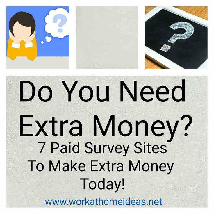 Please follow and like us:Follow http://workathomeideas.net/need-extra-money-7-paid-survey-sites-make-extra-money-today/ The following survey sites are my recommendations for making extra money, starting today! Working on these sites will give you a positive way to attack your need for supplemental income. I will direct you to join specific groups on Facebook, where you can pick up excellent ideas to make …