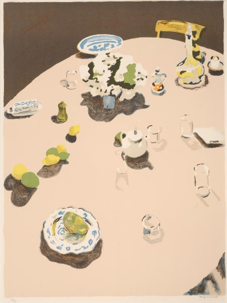Fairfield Porter. These colors. This shading.