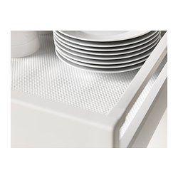 VARIERA Drawer mat, white - IKEA
