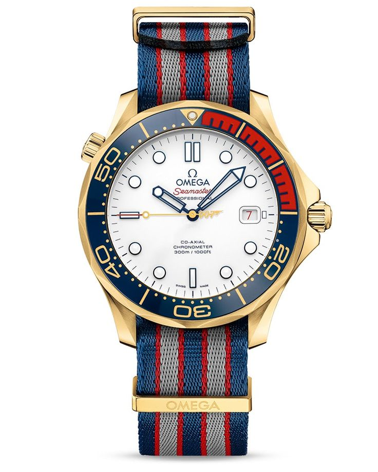 Introducing: The Omega James Bond Omega Seamaster Diver 300M 'Commander's Watch' Limited Edition