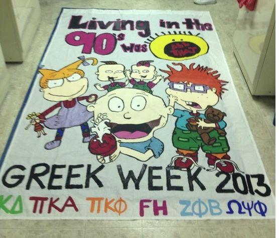 Greek Week theme. Maybe cute homecoming theme!