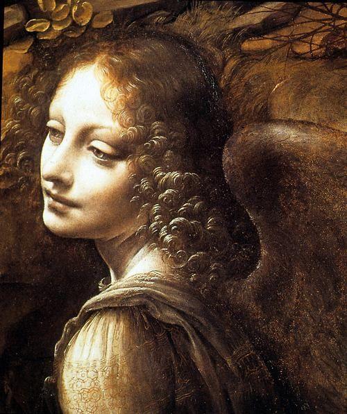 intothecellar:  Leonardo da Vinci. Virgin of the Rock.