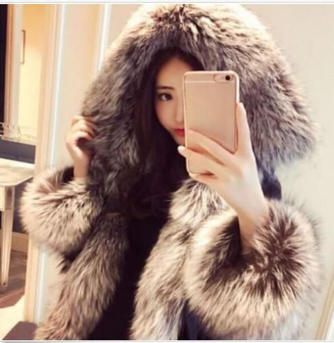 Hot Womens Real Fur Coats Fashion Hooded New Winter Down Jacket Parka Outwears | eBay