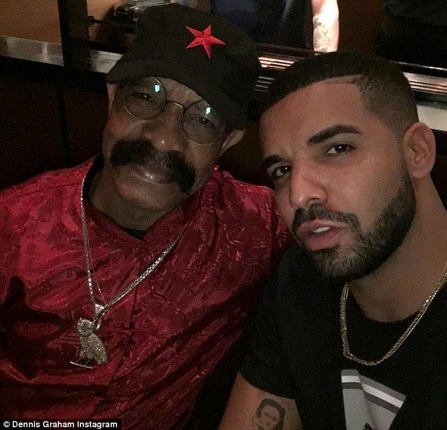 Like son, like father: On Wednesday Drake's father Dennis Aubrey released his first track ...