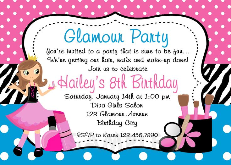 25+ best Invitation card birthday ideas on Pinterest | Birthday ...