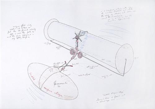 Panamarenko Drawing Panamarenko