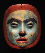 Female moon mask | Tlingit | Alaska