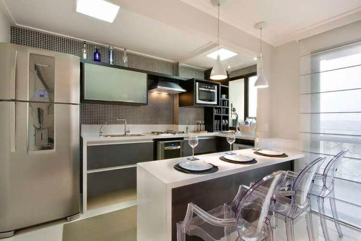 Decor salteado blog de decora o e arquitetura for Modelos de cocinas modernas pequenas