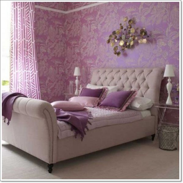 Amazing 35 Different Purple Bedroom Ideas