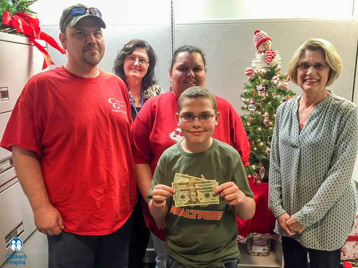 """An incredible act of kindness from a 12-year old boy... Justin Suddath donated half of his Christmas money as a way of saying """"thank you"""" to East Tennessee Children's Hospital for taking care of him and other kids. Thank you Justin!"""