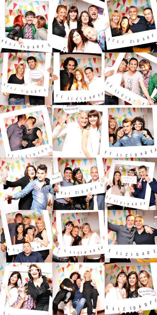 Photocall para un cumpleaños en http://lavidaescuca.com/photocall-40-cumpleanos/